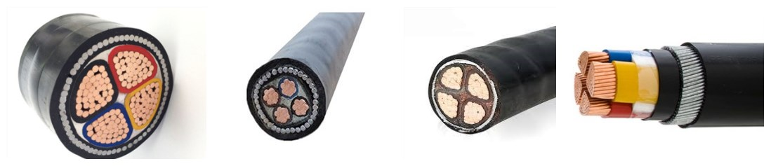 High Quality Amp Low Price 25mm 16mm 4 Core Armoured Cable