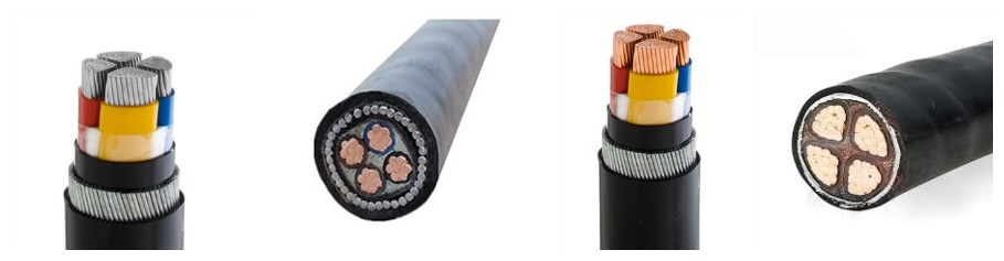 High Quality 4mm 6mm 16mm 25mm 4 Core Swa Cable For Sale