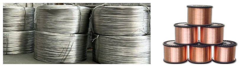95 sq mm aluminium cable and 95 sqmm copper cable material