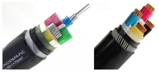 wholesale 25mm 4 core armoured cable with reasonable price