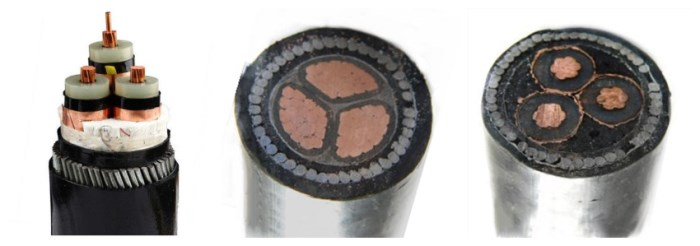 10 mm armoured cable 3 core at factory price