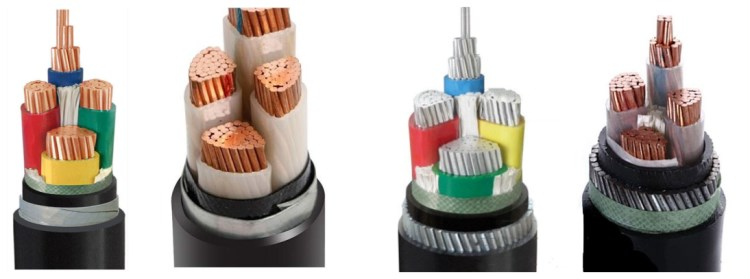 16mm 4 core armoured cable at factory price for sale