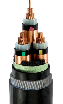 China low price 3 core swa cable