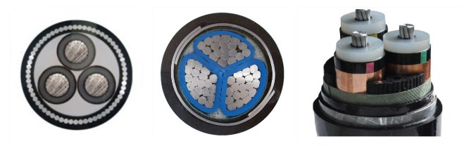 cheap 3 core aluminum armored cable