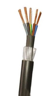 low price 6mm 5 core swa cable