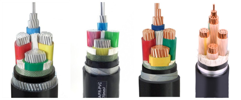 customize 4 core 16mm STA and SWA cable for you