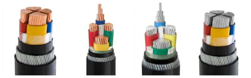 Reliable 4mm 6mm 16mm 25mm 4 Core Swa Cable Manufacturer Hdc