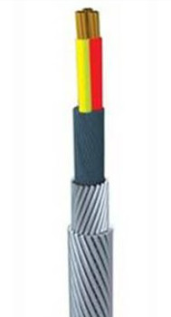 low price 3 core load bearable detecting cable