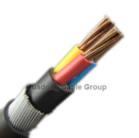 3C 25mm armoured cable size