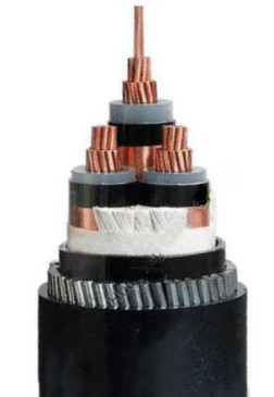 cu xlpe gswa pvc 1.8 3.3 kv voltage grade 3c x150 sq mm flame retardant cable iec 60332