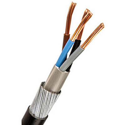 16mm armoured cable size