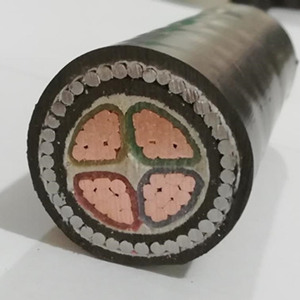 4 core 300mm sq armoured cable size
