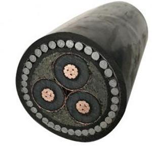 11kv aluminum power cable 3 core size 300mm2