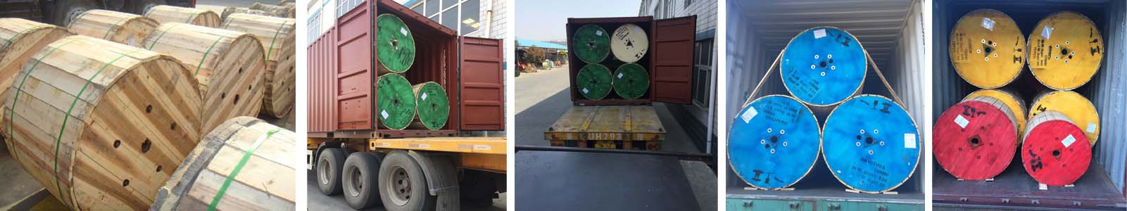 unarmoured cable transportation